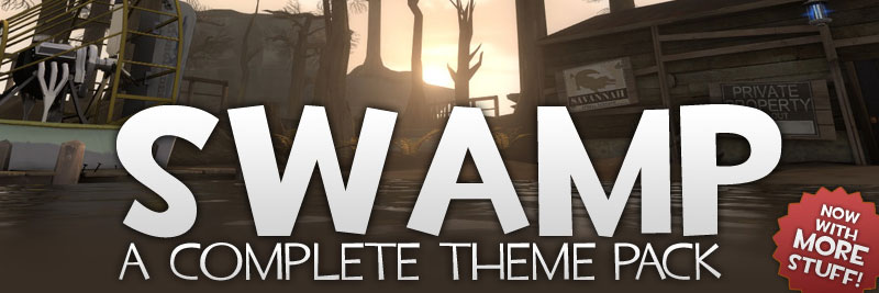 TF2maps.net Swamp theme pack for Team Fortress 2